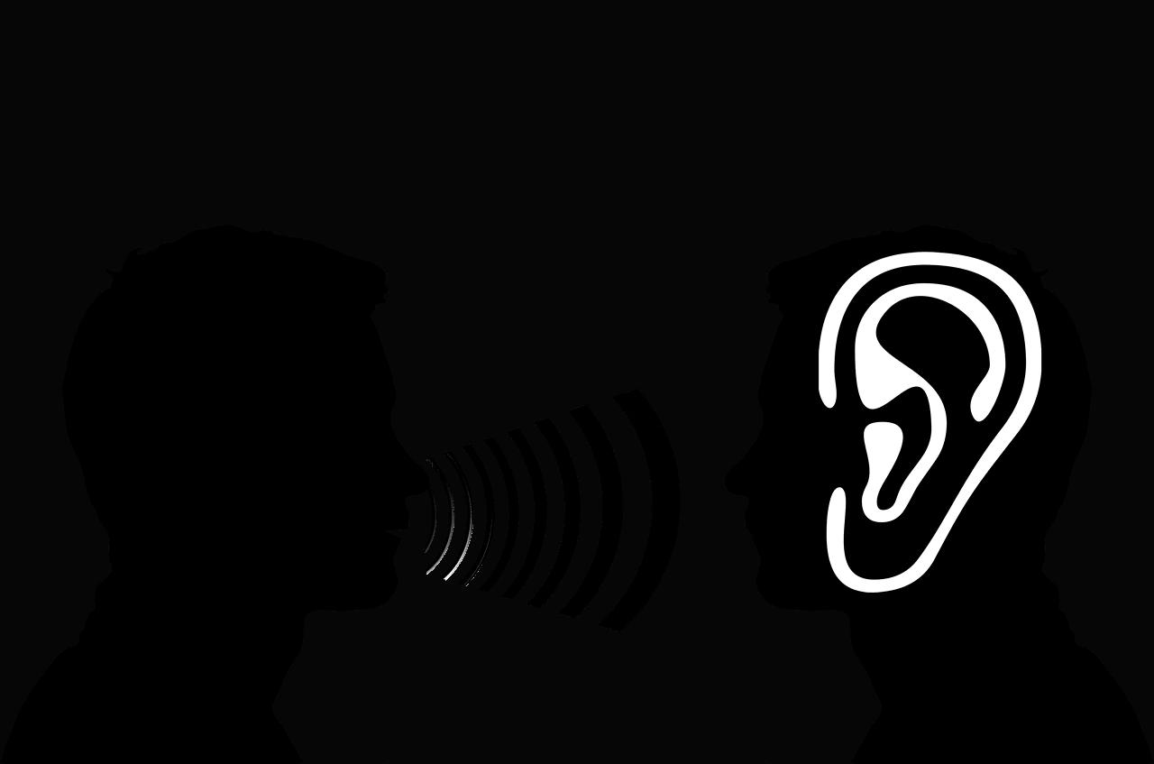 דיבור בין שני אנשים