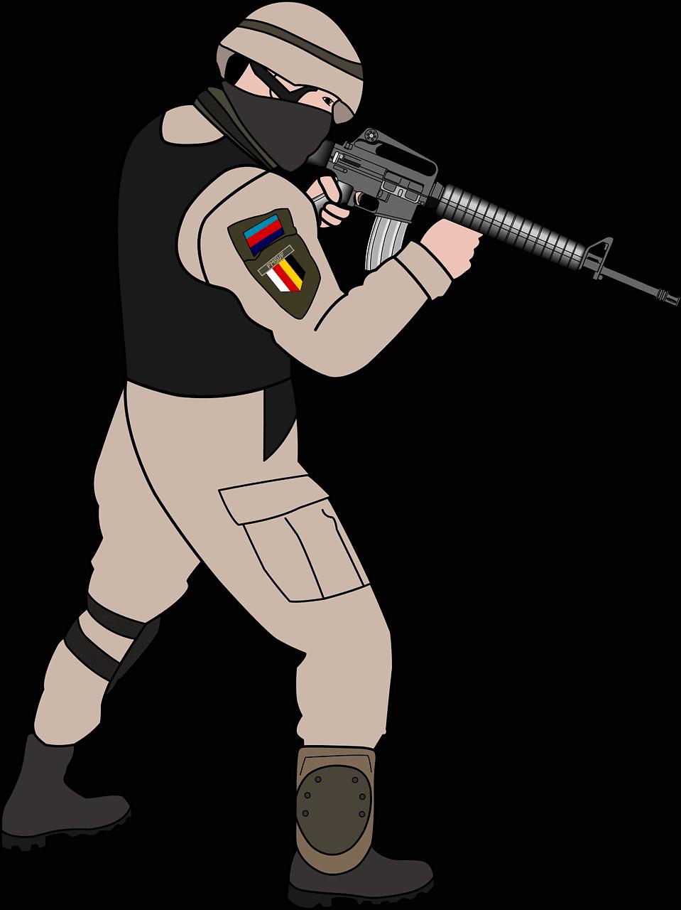 חייל ונשק